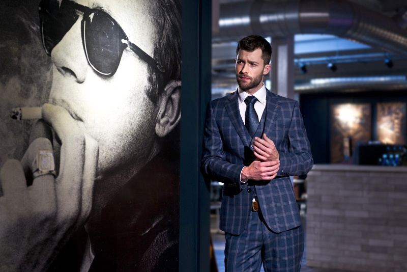 The Studio David Pauley People photography Herbie Frogg suits 2