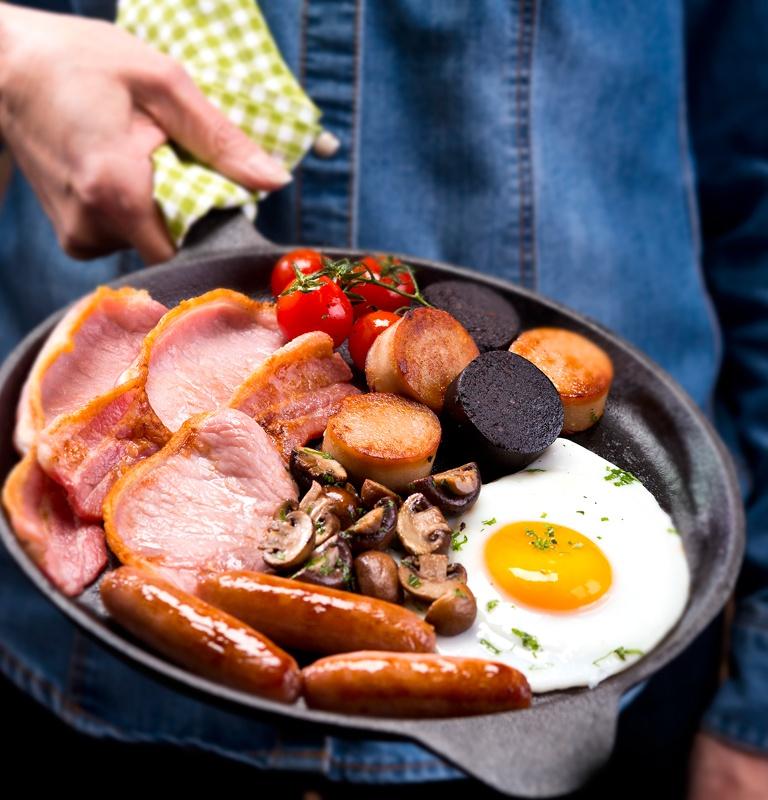The Studio David Pauley food photography Dohertys Meats 2