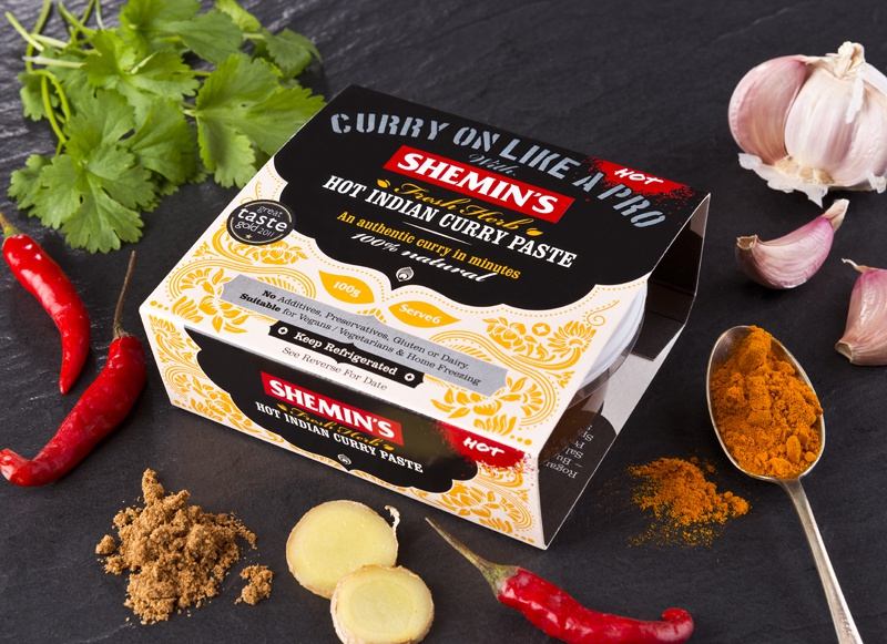 The Studio David Pauley Product photography Shemins curry paste