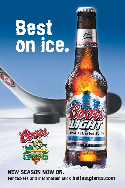 The Studio David Pauley Advertising photography Coors