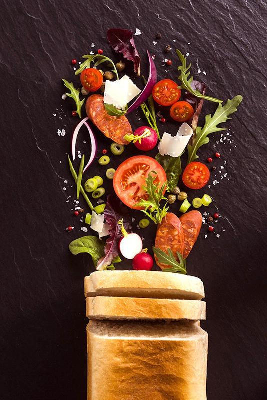 The Studio David Pauley food photography Deli Lites