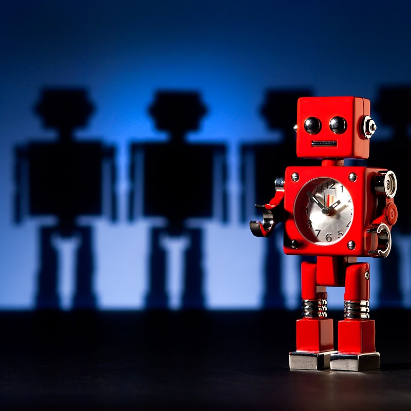 The Studio David Pauley Misc photography Robot